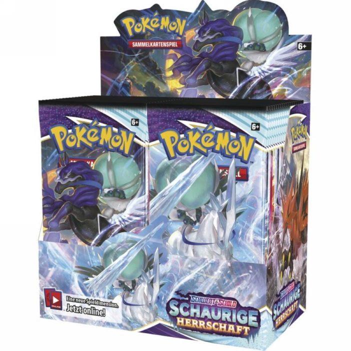 Pokémon Schaurige Herrschaft Display DE