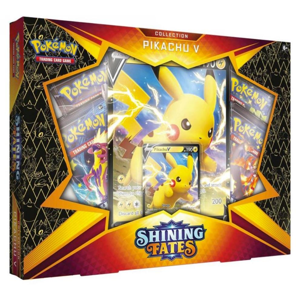 Pokémon Shining Fates Pikachu V Collection EN