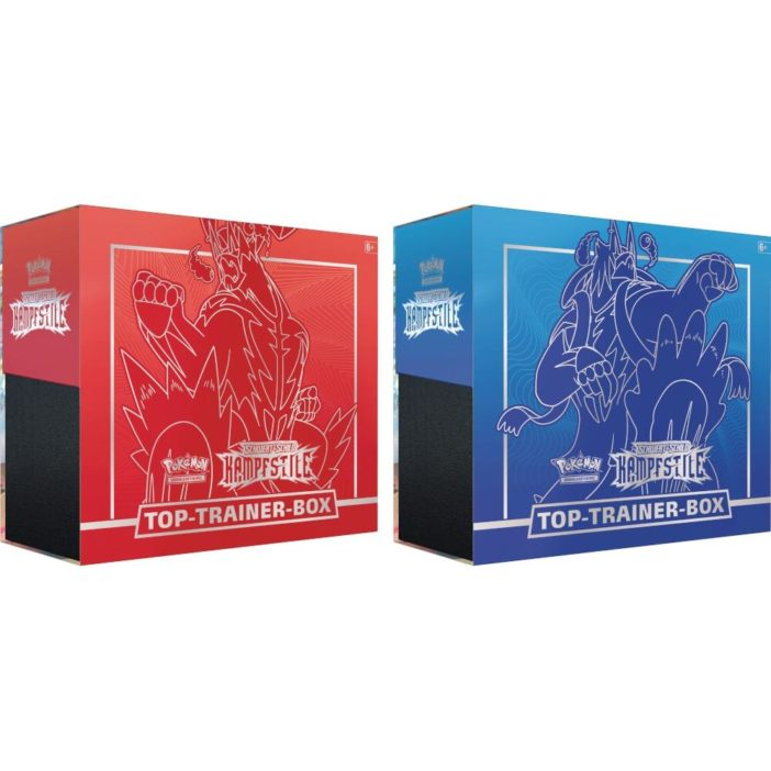 Pokémon Kampfstile Top Trainer Box DE