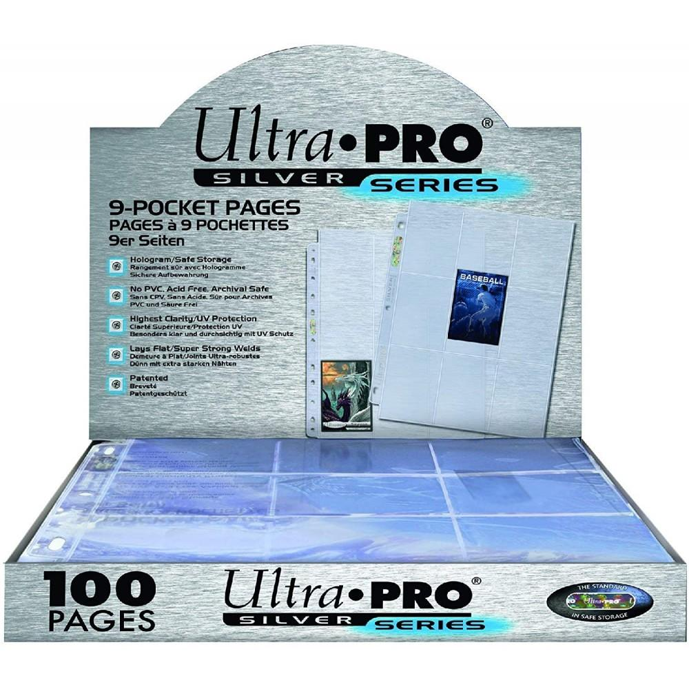 Ultra Pro Silver 9-Pocket Pages 1