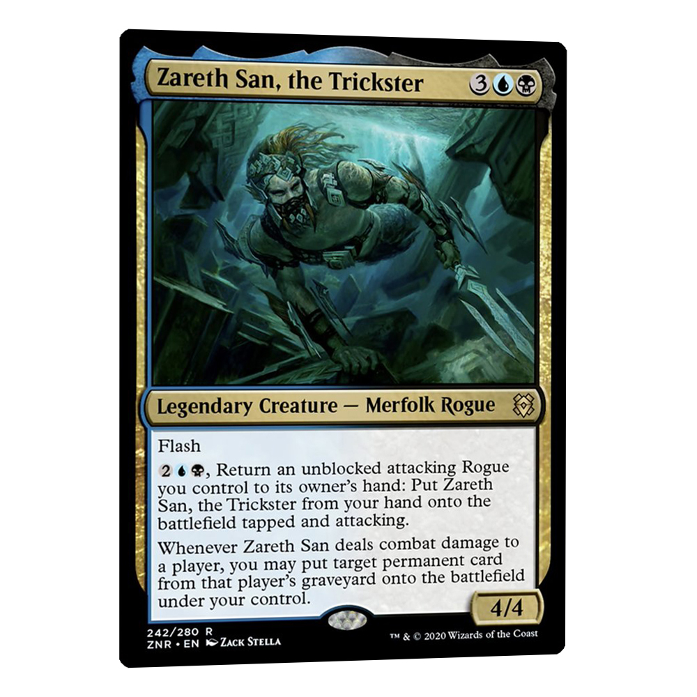 Zareth San, the Trickster