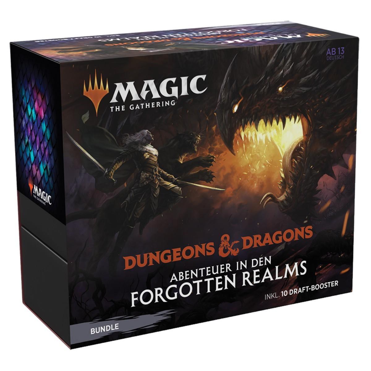MTG Dungeons & Dragons: Abenteuer in den Forgotten Realms Set Display DE