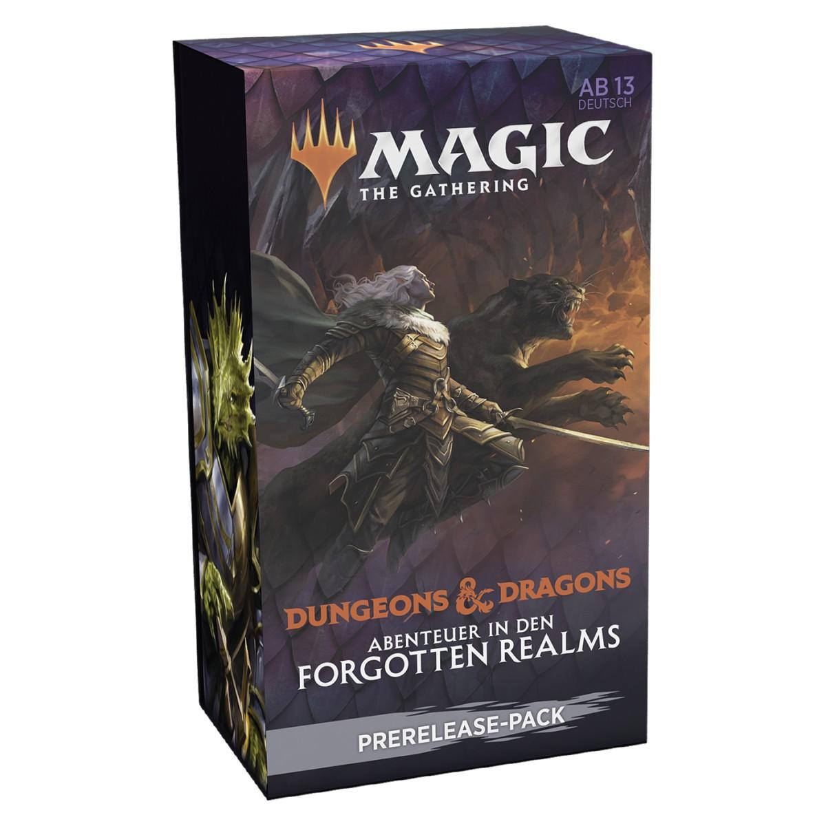 MTG Dungeons & Dragons: Abenteuer in den Forgotten Realms Prerelease Kit DE