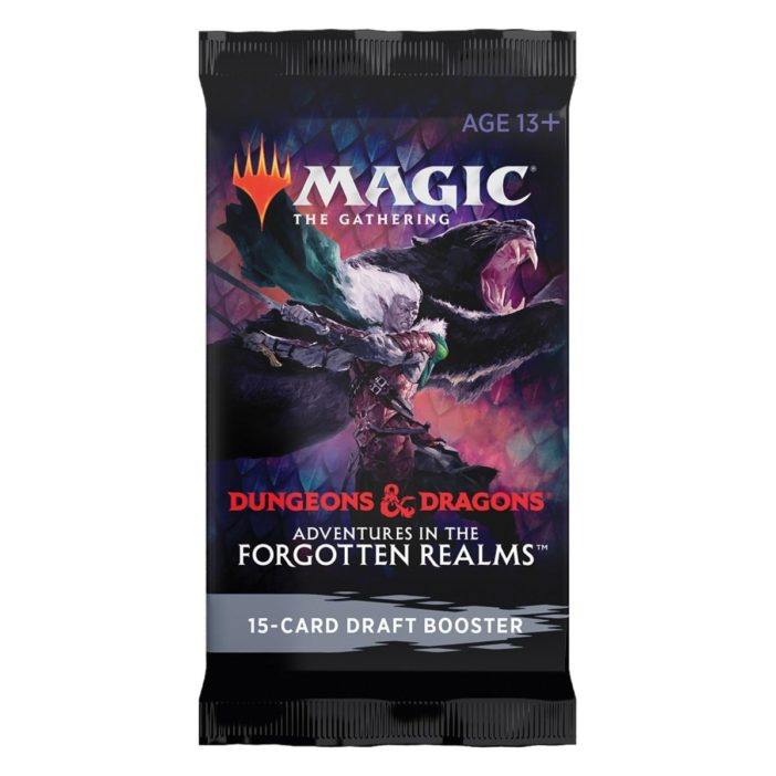 MTG Dungeons & Dragons: Adventures in the Forgotten Realms Draft Booster Pack EN