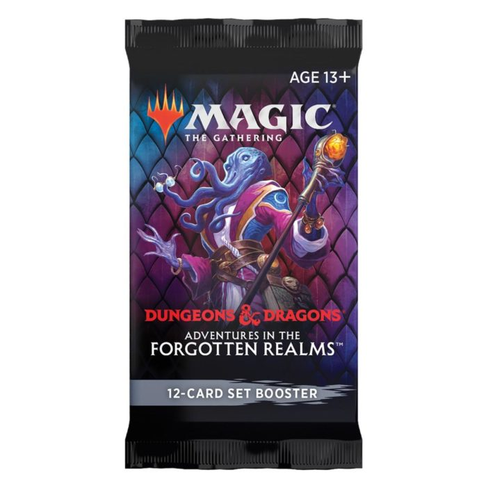 MTG Dungeons & Dragons: Adventures in the Forgotten Realms Set Booster Pack EN