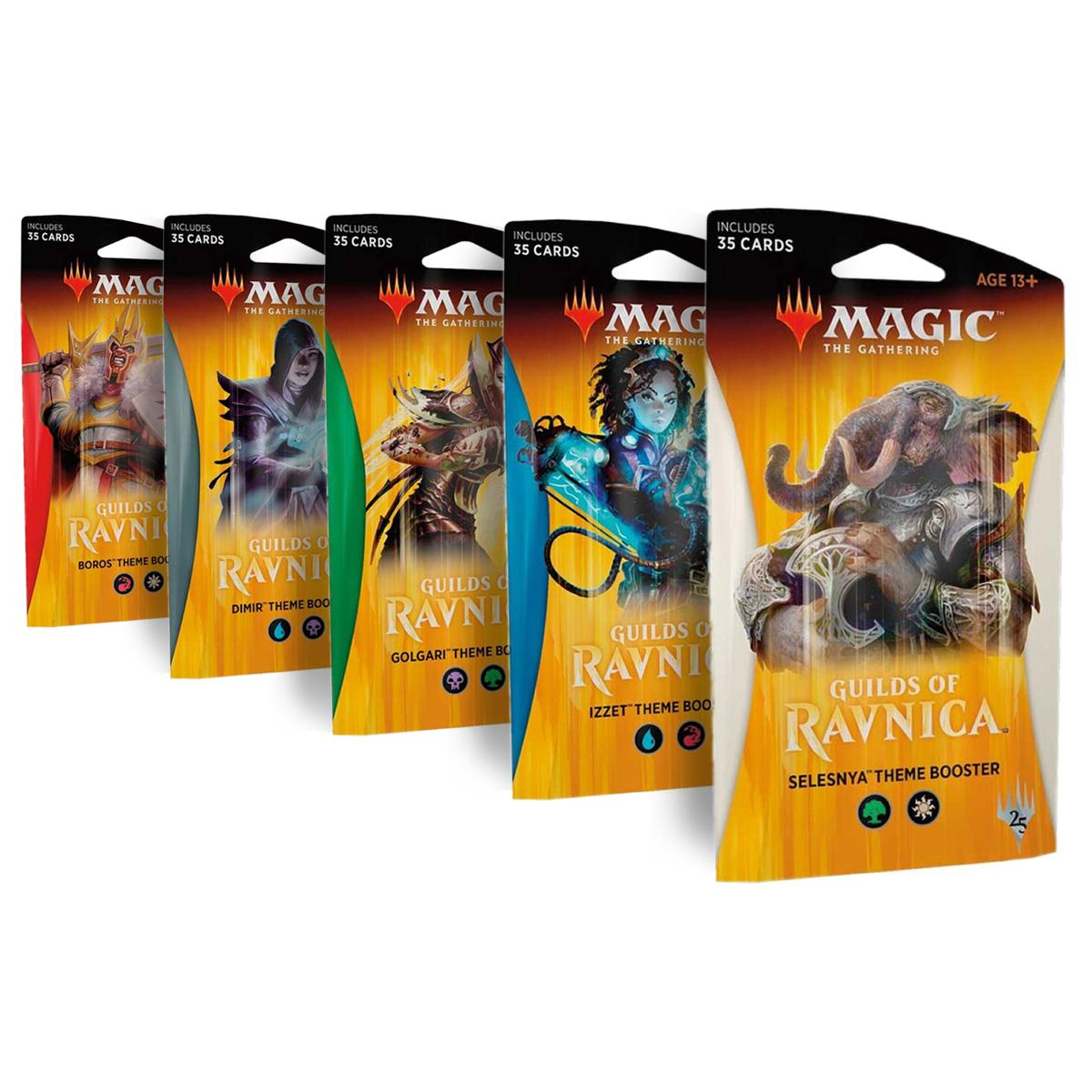 MTG Guilds Of Ravnica Theme Booster Englisch