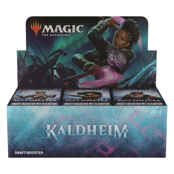 MTG Kaldheim Draft Display DE