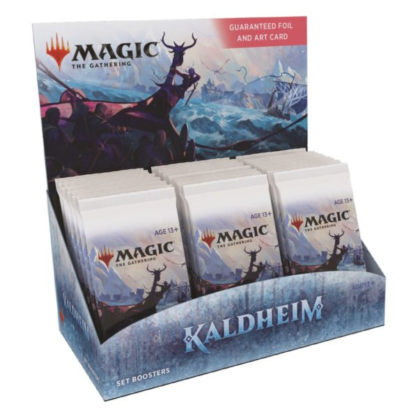MTG Kaldheim Set Display EN