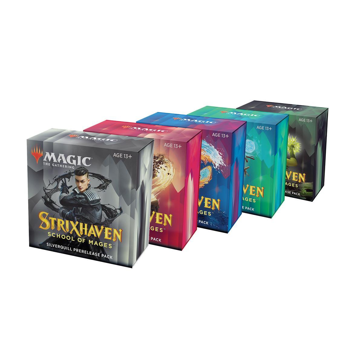 MTG Strixhaven: School of Mages Prerelease Pack EN
