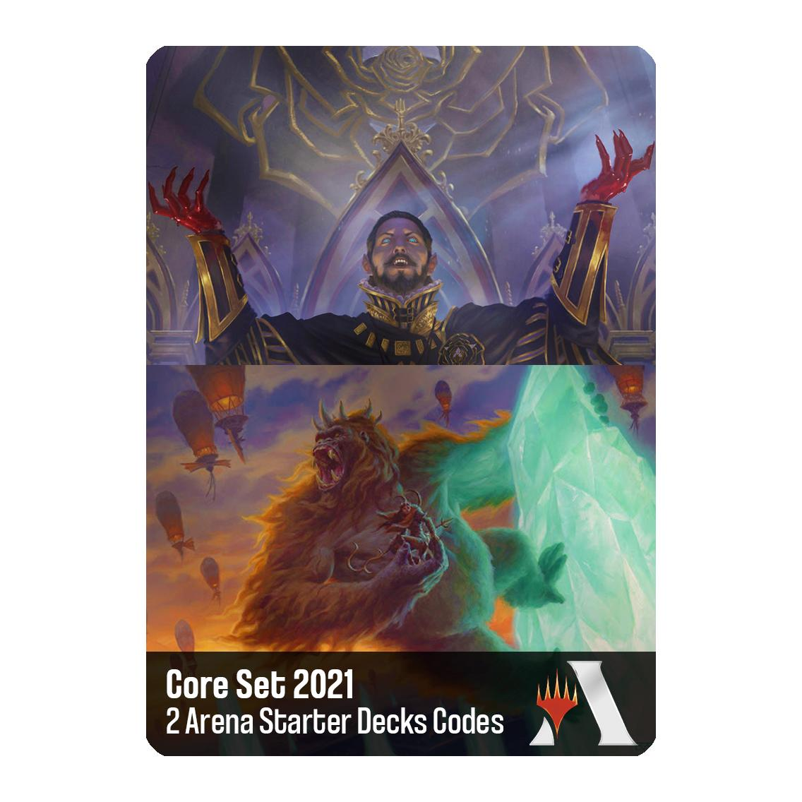 MTG Arena Code Core Set 2021 Starter Decks