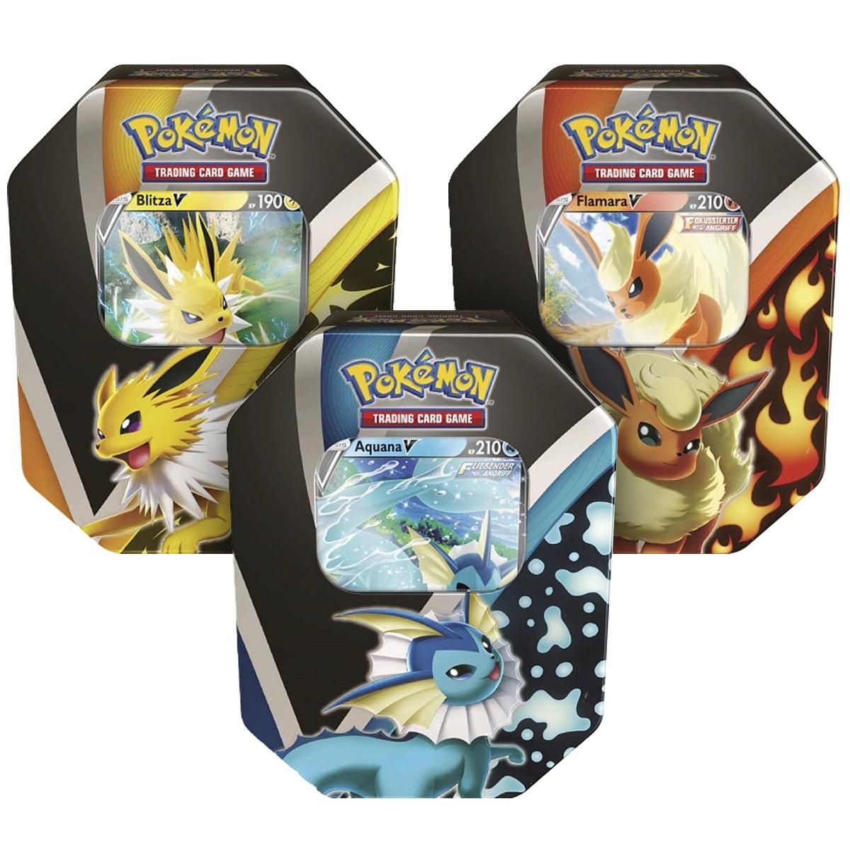 Pokémon Herbst 2021 Tin DE
