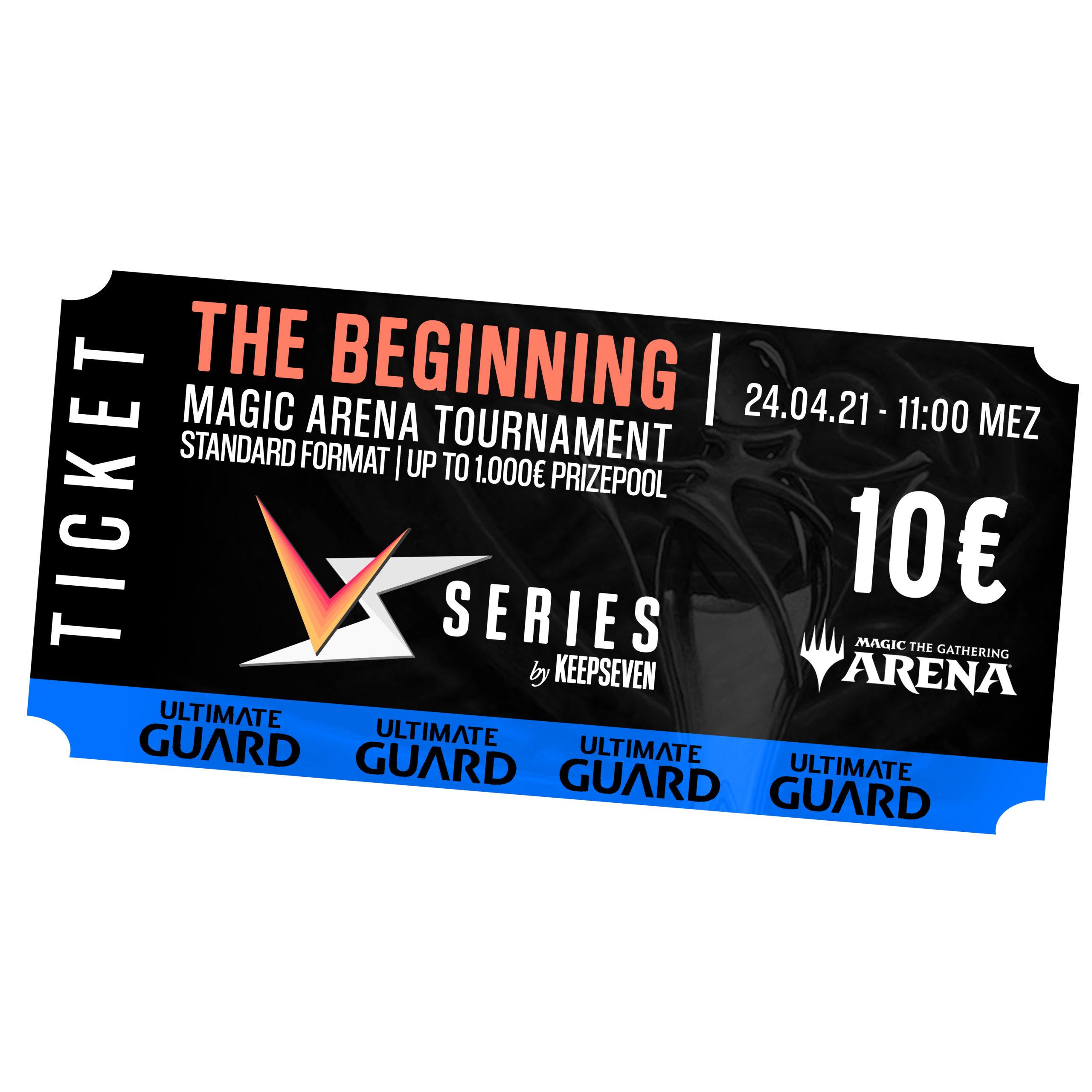 "Versus Series | ""The Beginning"" Turnier Ticket | 24.04.2021"
